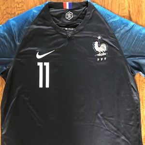 4a9b7ddce Nike Shirts | France National Team Player Ousmane Dembl | Poshmark
